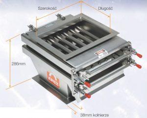 Ruszty magnetyczne do łatwego czyszczenia